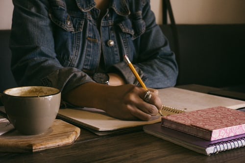 Writing BY HAND regularly improves not only your writing, but your mental health.